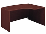 Series C 60'' W x 43'' D L-Bow Desk - Mahogany [WC36722-FS-BBF]