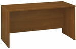 Series C 60'' W x 24'' D Credenza Shell - Warm Oak [WC67561-FS-BBF]