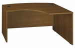 Series C 60'' W x 43'' D L-Bow Desk - Warm Oak [WC67522-FS-BBF]