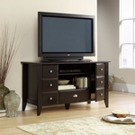 Shoal Creek 53''W x 29''H Wooden Entertainment Credenza with 2 Drawer Style Doors - Jamocha [409732-FS-SRTA]