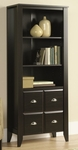 Shoal Creek 68.875''H Library with Hidden Storage - Jamocha [408739-FS-SRTA]