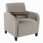 Siena Series Heavy Duty Guest Chair with Swivel Tablet [Q1431G3-FS-RO]