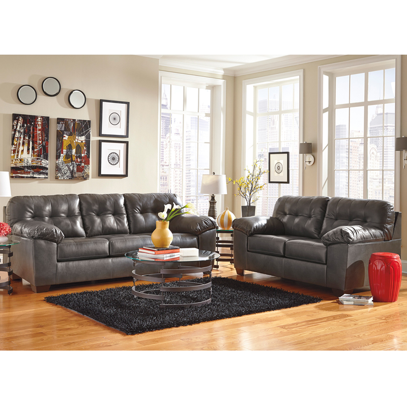 Signature Design By Ashley Alliston Living Room Set In