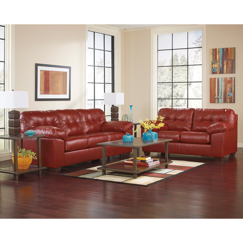 Ashleys Furnitur: Signature Design By Ashley Alliston Living Room Set In