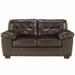 Signature Design by Ashley Alliston Loveseat in Chocolate DuraBlend [FSD-2399LS-CHO-GG]