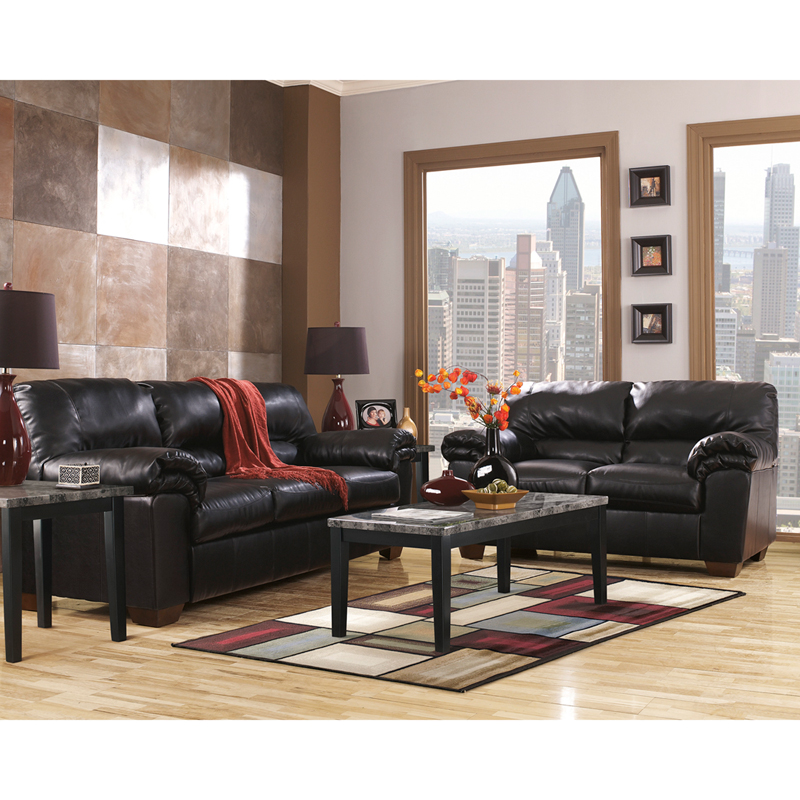 Signature Design By Ashley Commando Living Room Set In