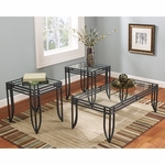 Signature Design by Ashley Exeter 3 Piece Occasional Table Set [FSD-TS3-52BB-GG]