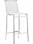 Soar Barstool in White [300151-FS-ZUO]