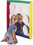 Soft Frame Wall Hung Concave Bubble Mirror - 34''L x 34''W [CF332-144-FS-CHF]