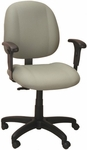 Soft-Sit 24.5'' W x 22'' D x 40.5'' H Adjustable Height and Width Mid-Back Chair [E-52851V-FS-EOF]