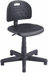 Soft Tough™ 17'' H Adjustable Height Economy Task Chair - Black [6900-FS-SAF]