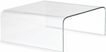 Sojourn Coffee Table with Clear Glass [404119-FS-ZUO]