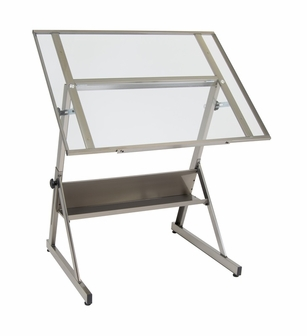 Solano 42 W X 29 5 D Adjustable Height Drafting Table