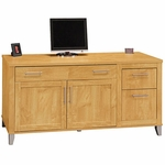 Somerset Computer Credenza - Maple Cross [WC81429K-FS-BHF]