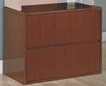 OSP Furniture Sonoma Wood Lateral File - Cherry [SON-12-FS-OS]