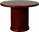 OSP Furniture Sonoma Wood Round Table - Cherry [SON58-FS-OS]