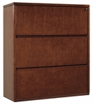 OSP Furniture Sonoma Wood Three-Drawer Lateral File - Cherry [SON-108-FS-OS]