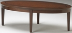 Sorrento 48'' W Oval Coffee Table - Bourbon Cherry [SCFTSCR-FS-MAY]