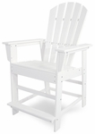 POLYWOOD® South Beach Counter Chair - White [SBD24WH-FS-PD]