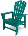 POLYWOOD® South Beach Dining Chair - Vibrant Aruba [SBD16AR-FS-PD]