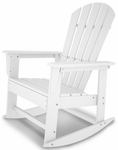 POLYWOOD® South Beach Rocker - White [SBR16WH-FS-PD]