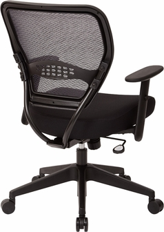 Office Star Professional Air Grid Deluxe Task Chair space professional air grid back managers chair with mesh seat and