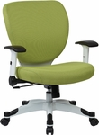 Space Pulsar Fabric Seat and Back Managers Office Chair - Dove Olive [5200W-5879-FS-OS]