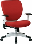 Space Pulsar Fabric Seat and Back Managers Office Chair - Dove Rouge [5200W-5812-FS-OS]