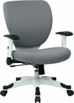 Space Pulsar Fabric Seat and Back Managers Office Chair - Dove Steel [5200W-5811-FS-OS]