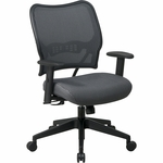 Space VERA Series Deluxe Task Chair with VeraFlex Back - Charcoal [13-V44N1WA-FS-OS]