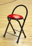 Sport Pride Timeout Team Stool with 20'' Seat Height [STC300S-BIS]