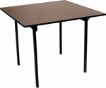 Square Card Table with Laminate Top - 30''W x 30''D x 30''H [ML30CD-MFC]
