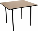 Square Card Table with Plywood Top - 30''W x 30''D [MP30CD-MFC]