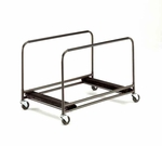 Standard Duty Rectangular/Serpentine Edge Table Caddy with Swivel Stem Casters - 31.25''W x 49''L x 32.25''H [TEC-MFT]