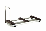 Standard Duty Rectangular Table Caddy with Swivel Stem Casters - 31.25''W x 74''L x 36.25''H [TC72-MFT]