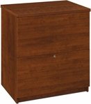 Two Drawer Standard Lateral File for Legal and Letter Sized Papers - Tuscany Brown [65635-2163-FS-BS]