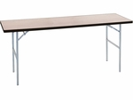 Standard Series Rectangular Banquet Table with Plywood Top - 18''W x 48''D [MP1848-MFC]