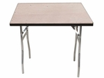 Standard Series 30'' Square Folding Banquet Table with Plywood Top [MP30SQFLD-MFC]
