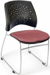 Stars Stack Chair - Coral Pink Seat Cushion [325-2208-MFO]