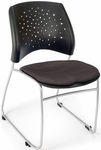 Stars Stack Chair - Slate Gray Seat Cushion [325-2213-MFO]