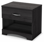 Step One Collection Night Stand Grey Oak [3137062-FS-SS]