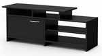 Step One Collection TV Stand Pure Black [3107661C-FS-SS]