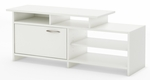 Step One Collection TV Stand Pure White [3160661-FS-SS]
