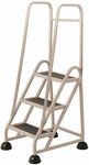 Stop Step 3 Step Ladder with Double Handrail - Beige [1033-19-FS-CRA]