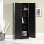 Select Collection 71.5''H Storage Cabinet with Adjustable Shelves - Ebony Ash [410814-FS-SRTA]