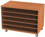 Storage Solution Paper Cabinet with Fixed Shelves - 36''H x 48''W [SS1000-NSL]