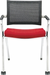 Strata Guest Chair with Front Casters [ST9440-FS-DV]