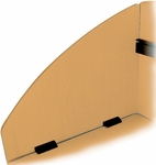Side Privacy Panel Set for Models 55103 and 55139 - Maple [55151-MPL-MFO]