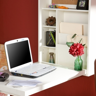 Stylish Desk stylish space saving multi function wall mounted fold out