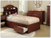 Summer Breeze Bedroom Collection in Royal Cherry - South Shore